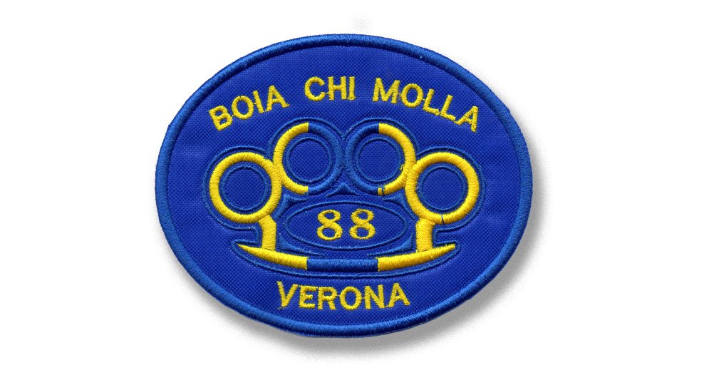 PATCH BOIA CHI MOLLA VERONA KNUCLE Patches