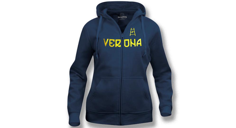HOODY  ZIP VERONA SCALA RUNA Sweaters & Hoodies