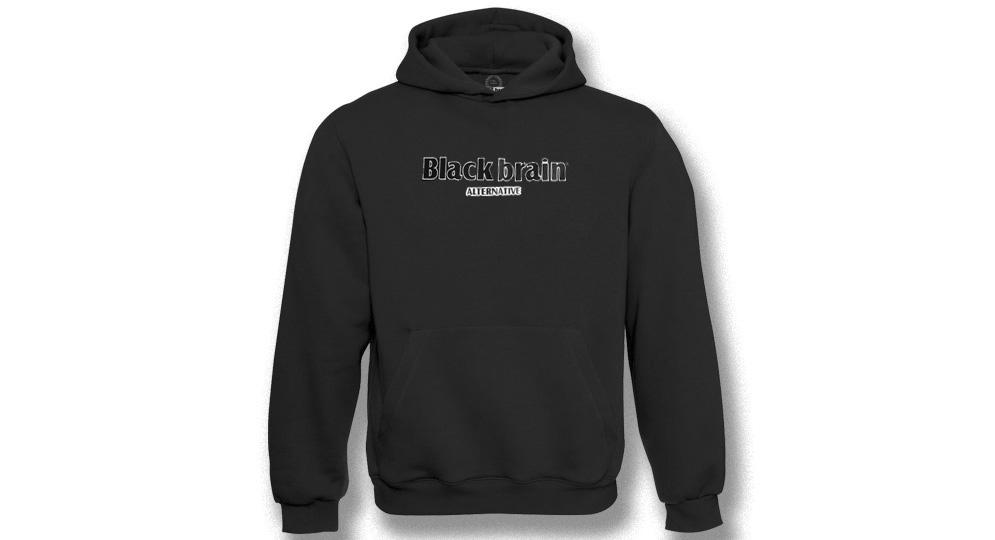 HOODY BLACK BRAIN Sweaters & Hoodies