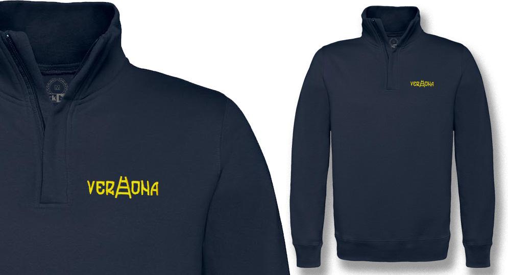 HALF ZIP SWEAT VERONA SCALA Sweaters & Hoodies