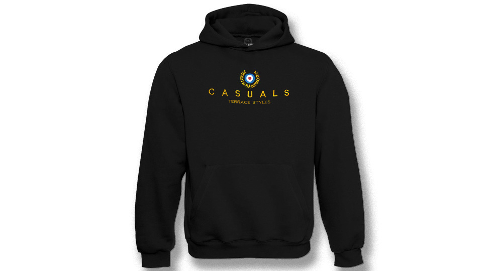 HOODY CASUALS TERRACE STYLES CROWN AND TARGET Sweaters & Hoodies