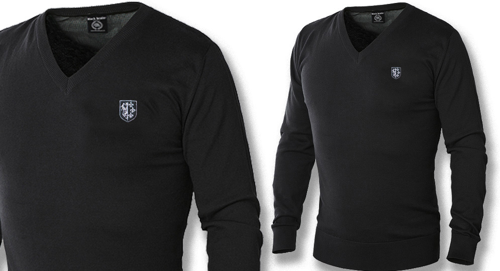 PULLOVER V NECK CHARLEMAGNE Polos Pullovers Shirts
