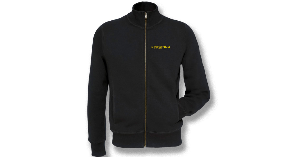 SWEAT JACKET FULL ZIP VERONA SCALA RUNA Sweaters & Hoodies