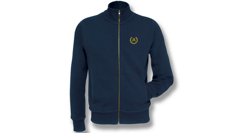 SWEAT JACKET FULL ZIP ALLORO SCALA VERONA Sweaters & Hoodies
