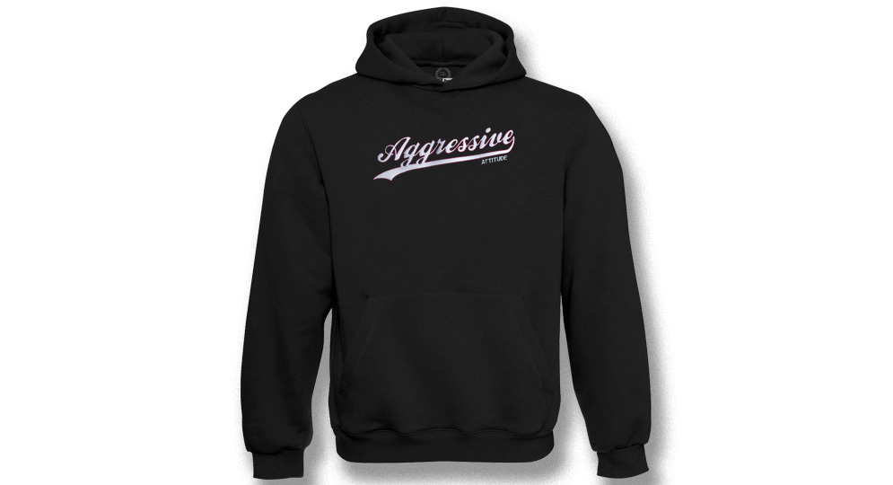 HOODY AGGRESSIVE ATTITUDE Sweaters & Hoodies
