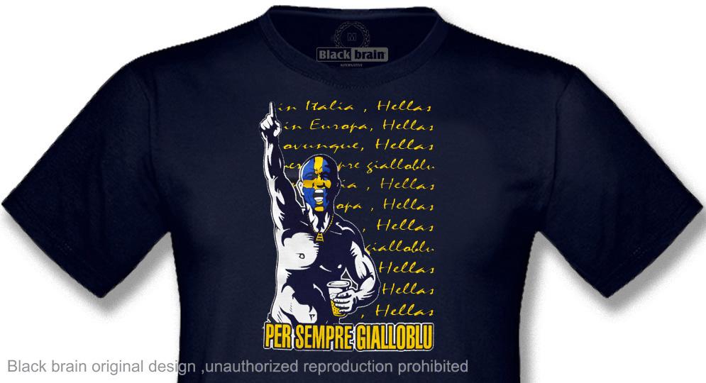 T-SHIRT PER SEMPRE GIALLOBLU T-shirts