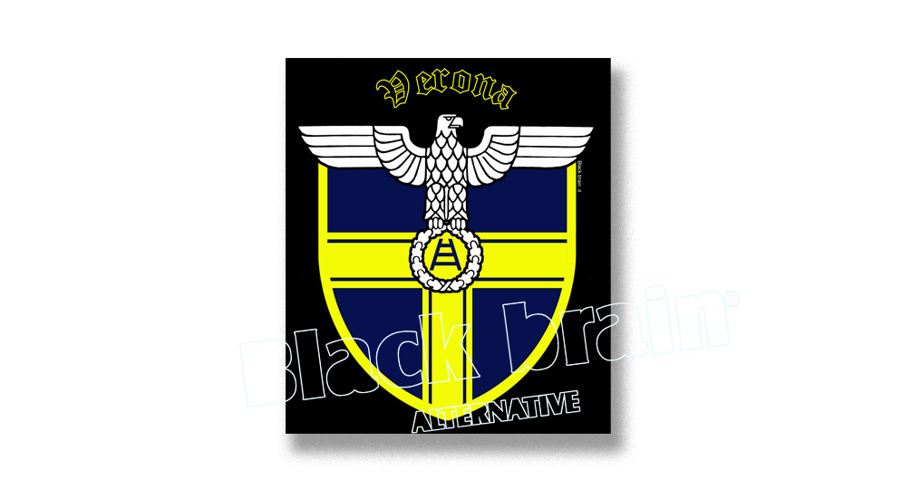 STICKER AQUILA VERONA SCUDO Pins & Stickers