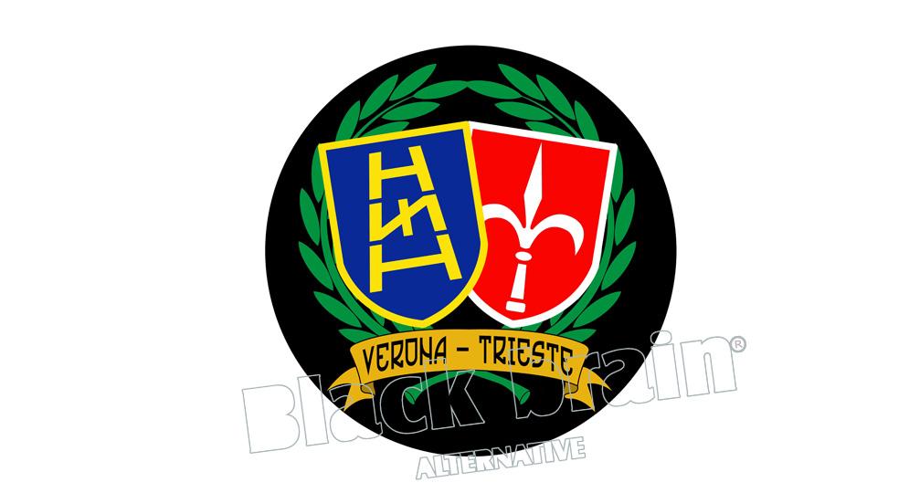 STICKER VERONA- TRIESTE Pins & Stickers