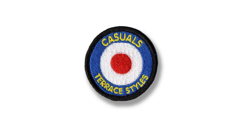 PATCH  CASUALS TARGET SIGNATURE Patches