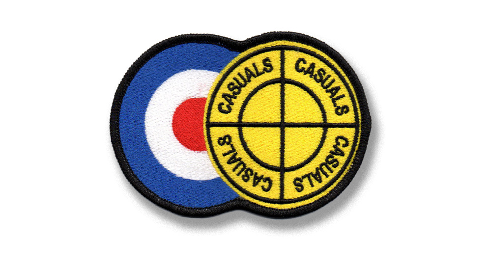 PATCH CASUALS TARGET & CENTER Patches