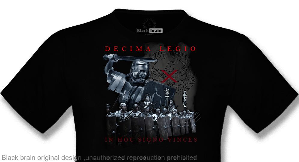 T-SHIRT DECIMA LEGIO IN HOC SIGNO VINCES T-shirts