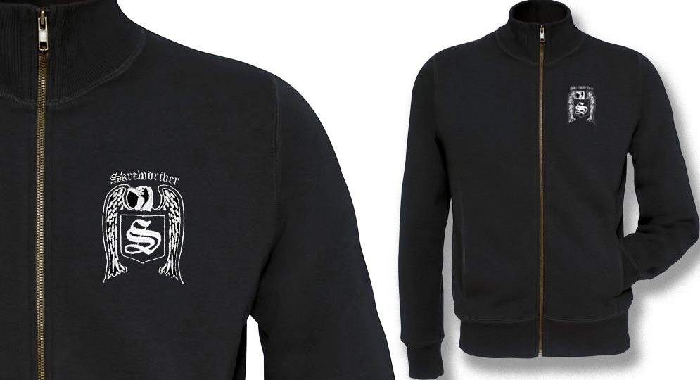 SWEAT FULL ZIP JACKET  SKREWDRIVER Sweaters & Hoodies