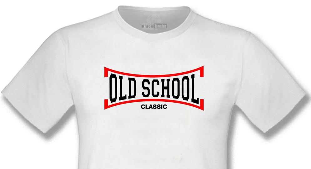 T-SHIRT OLD SCHOOL WHITE T-shirts