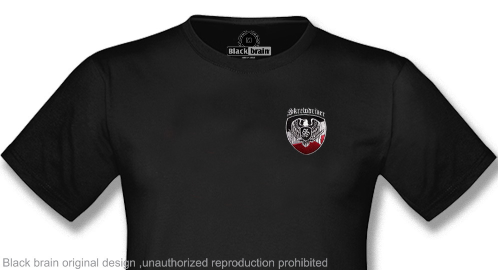 T-SHIRT SKREWDRIVER EAGLE SHIELD EMBROIDERY T-shirts