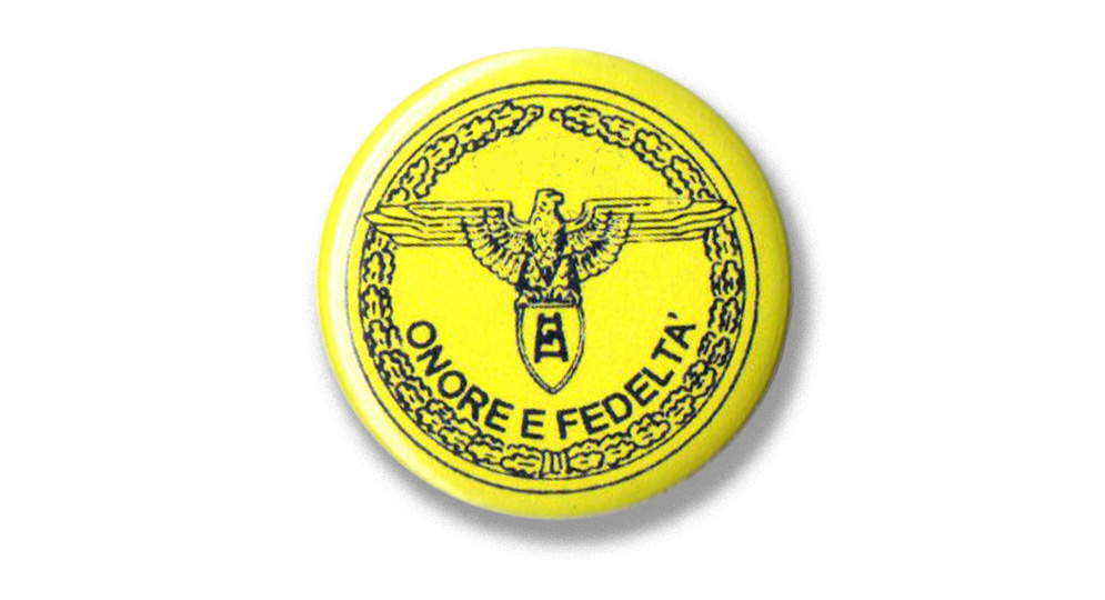 BUTTON VERONA ONORE E FEDELTA' Pins & Stickers