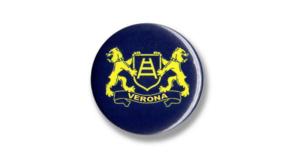 BUTTON MASTINI VERONA Pins & Stickers