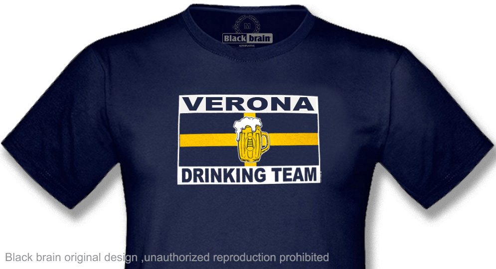 T-SHIRT VERONA DRINKING TEAM T-shirts