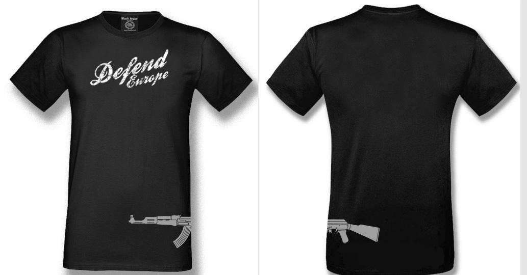 T-SHIRT DEFEND EUROPE ITALIC T-shirts