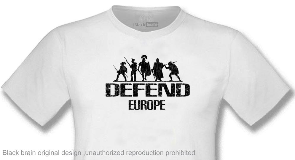T-SHIRT DEFEND EUROPE WORRIORS T-shirts