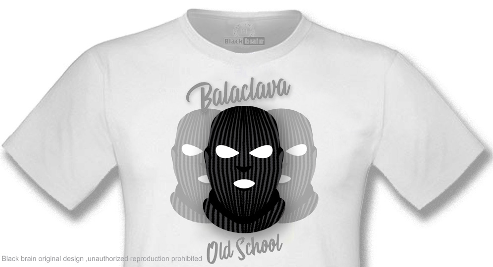 T-SHIRT BALACLAVA OLD SCHOOL T-shirts