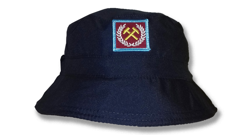 FISHERMAN HAT HAMMERS BAY PATCH Caps