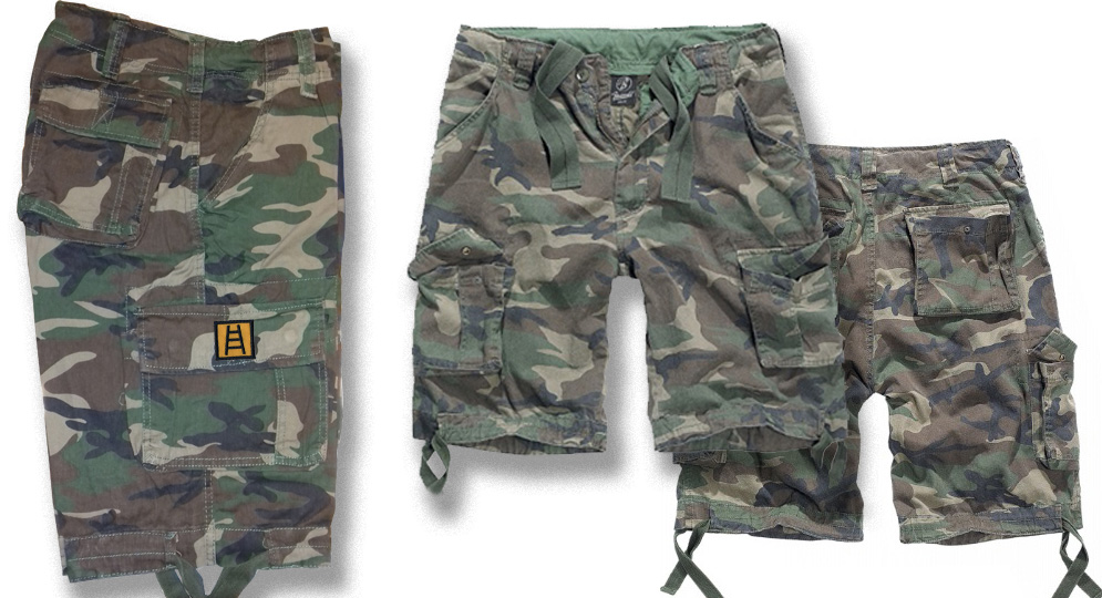 BERMUDA WOODLAND SCALETTA Shorts & trousers