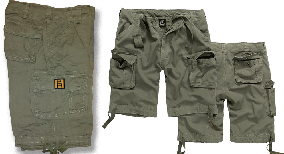 BERMUDA OLIVA SCALETTA Shorts & trousers
