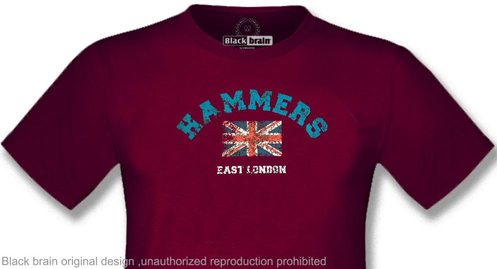T-SHIRT HAMMERS EAST LONDON T-shirts