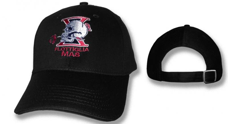 CAP DECIMA MAS BLACK Caps