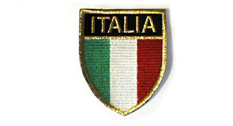 ITALIA SCUDETTO Patches