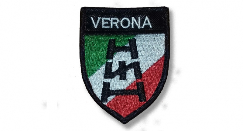 PATCHE VERONA SCUDO TRICOLORE SCALA RUNA Patches