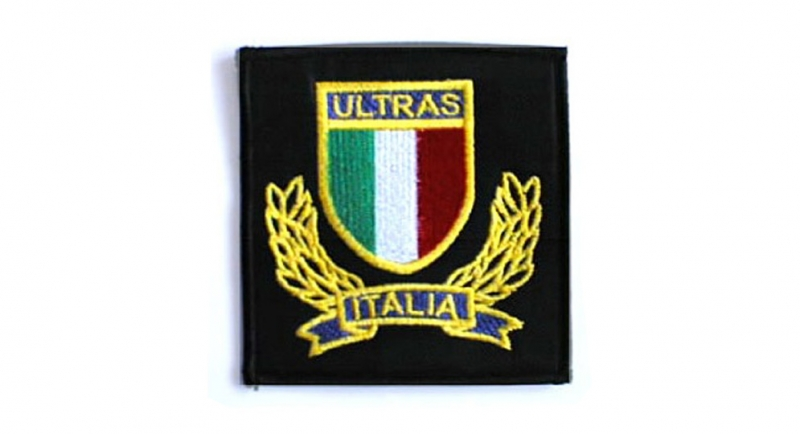 PATCHE ULTRAS ITALIA SCUDO ALLORO Patches