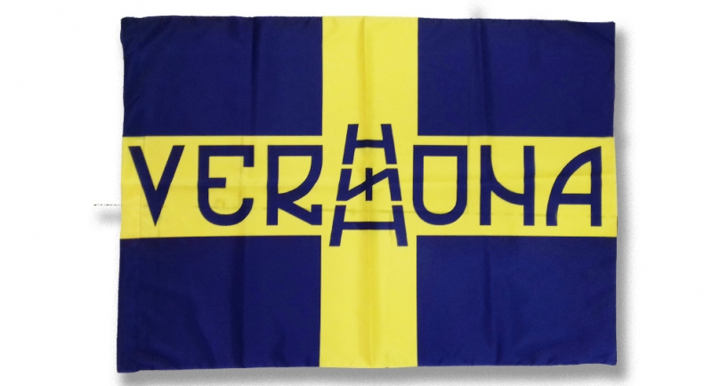 FLAG VERONA CROCE SCALA RUNA