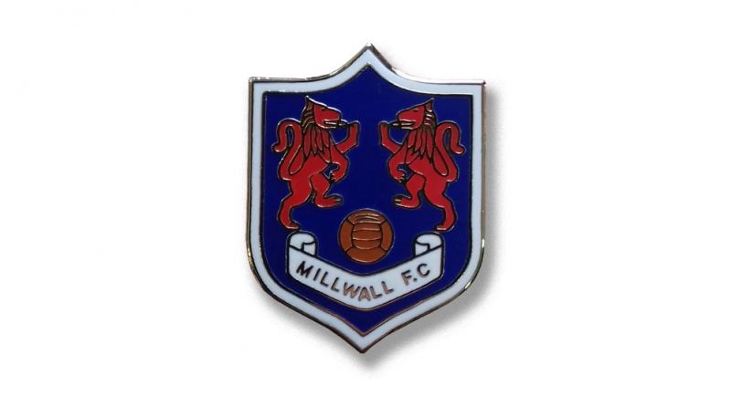 PIN MILLWALL SHIELD