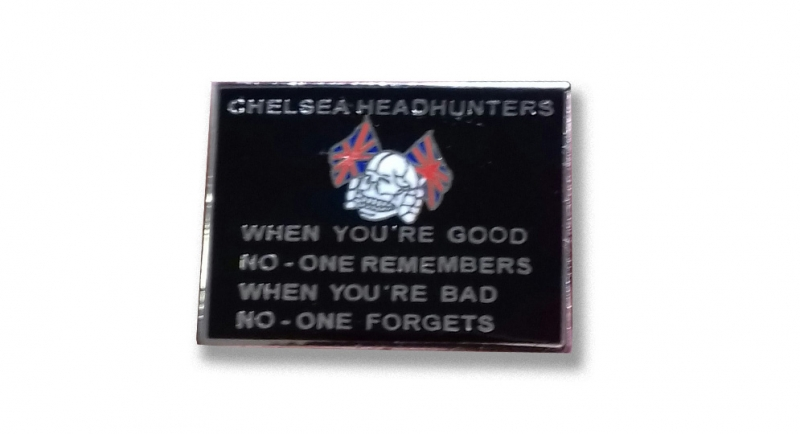PIN CHELSEA HEADHUNTERS Pins & Stickers