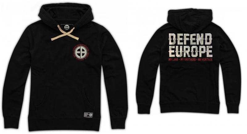 HOODY DEFEND EUROPE European Brotherhood