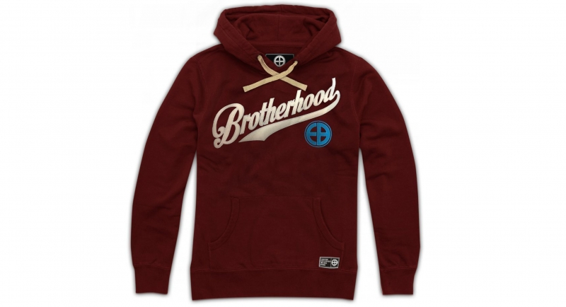 HOODY BROTHERHOOD BORDEAUX European Brotherhood