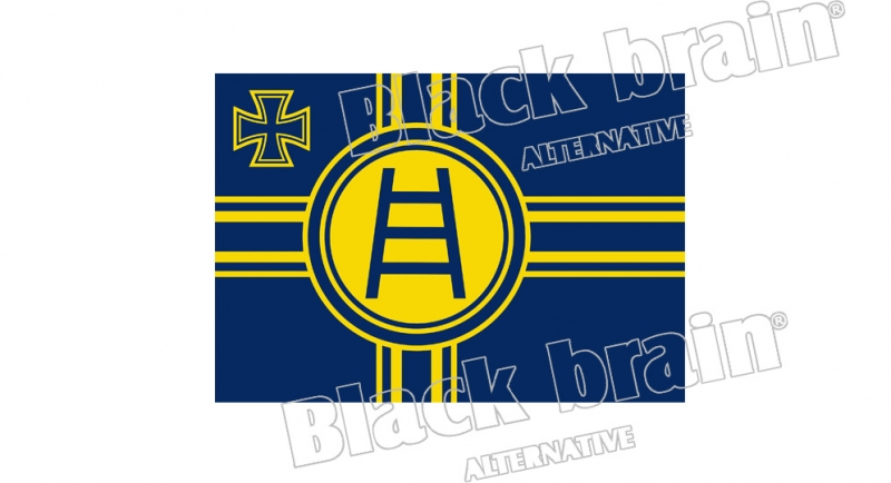 STICKER VERONA FLAG CROSS