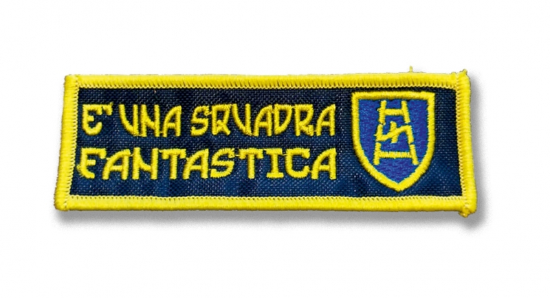 PATCHE E' UNA SQUADRA FANTASTICA Patches