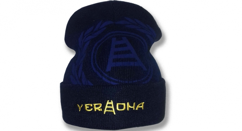 BEANIE VERONA CORONA + SCRITTA Caps