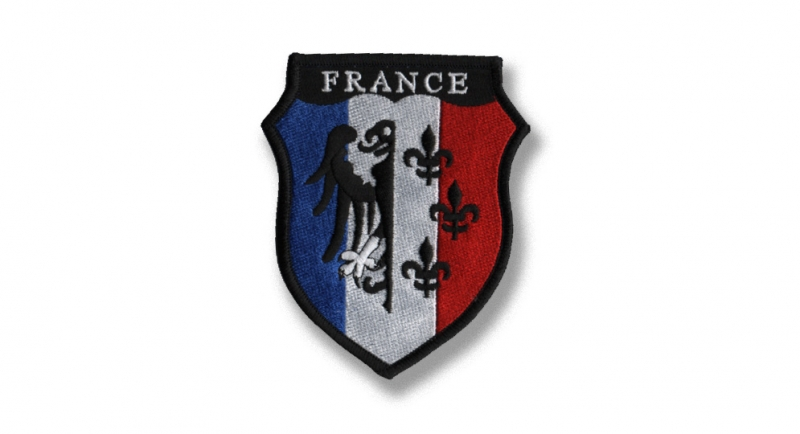 PATCH CHARLEMAGNE FRANCE Patches
