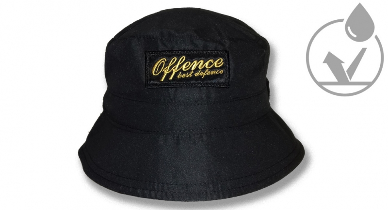 FISHERMAN OFFENCE BEST DEFENCE BLACK/YELLOW Offence best defence