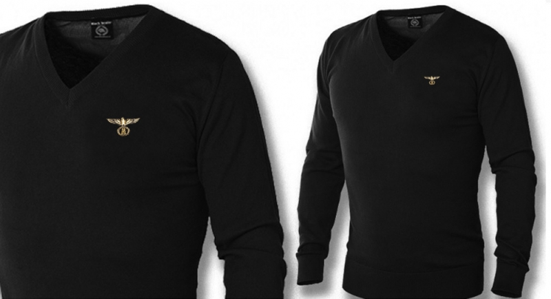 PULLOVER V NECK AQUILA SCALA RUNA Polos Pullovers Shirts