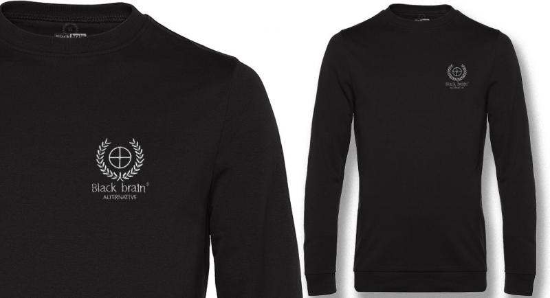 SWEAT BLACK BRAIN CROSS Sweaters & Hoodies