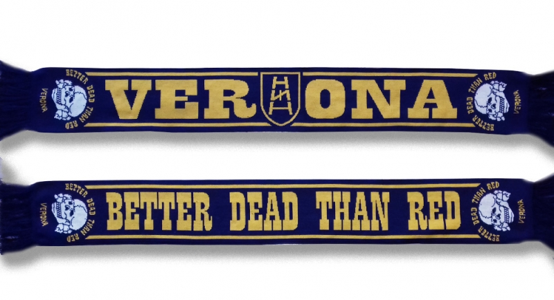 SCARF VERONA BETTER DEAD THAN RED Scarves