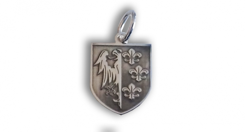 PENDANT CHARLEMAGNE SHIELD Extras