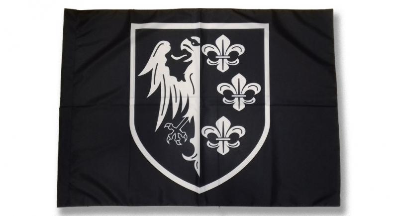 FLAG CHARLEMAGNE SHIELD