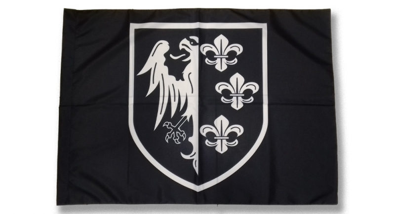FLAG CHARLEMAGNE SHIELD Flags
