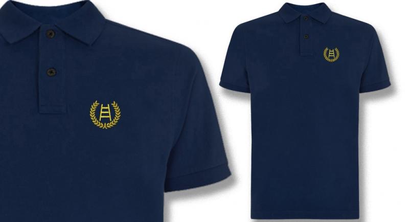 POLO BLU ALLORO SCALA Polos Pullovers Shirts