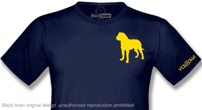 T-SHIRT MASTINO VERONA SILHOUETTE T-shirts